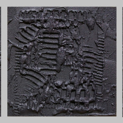 Neri Perfetti (trittico) TM 90x30x5 2012