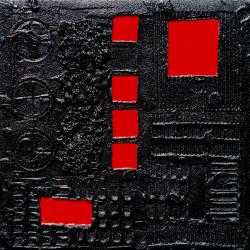 INTRUSIONI -tm su tavola 50x50x5