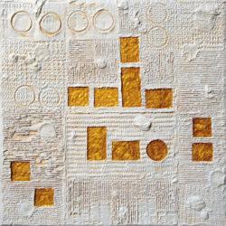 IL MIO ALFABETO - tm su tavola 60x60x5 2016